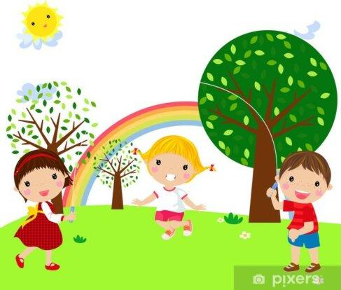 Blije kinderen Drenthe