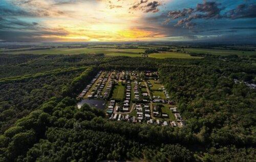 Luchtfoto Camping Zonnenkamp
