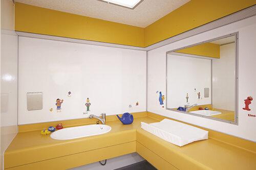 Babyroom Sanitair Paviljoen
