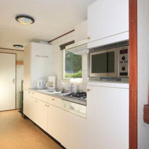 Keuken sauna chalet