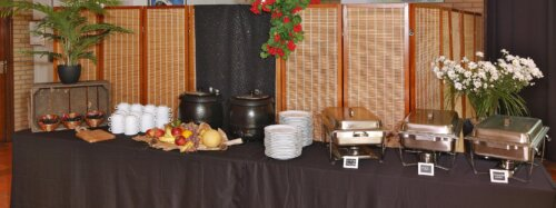 Buffet recreatiezaal