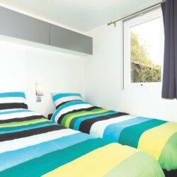 Slaapkamer chalet 36 Camping Zonnekamp