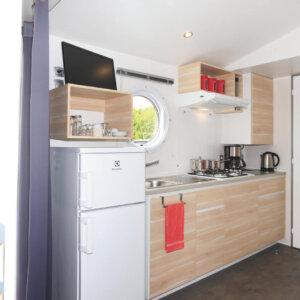 Keuken chalet 36 Camping Zonnekamp
