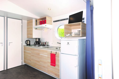 Keuken chalet 34 Camping Zonnekamp