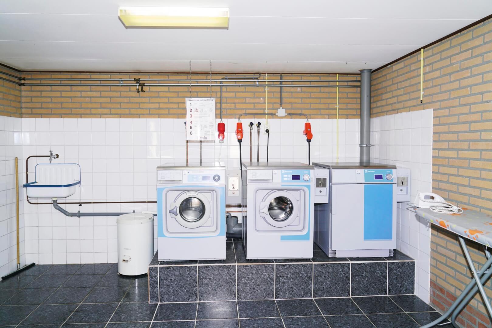Wasmachines droger Camping Zonnekamp